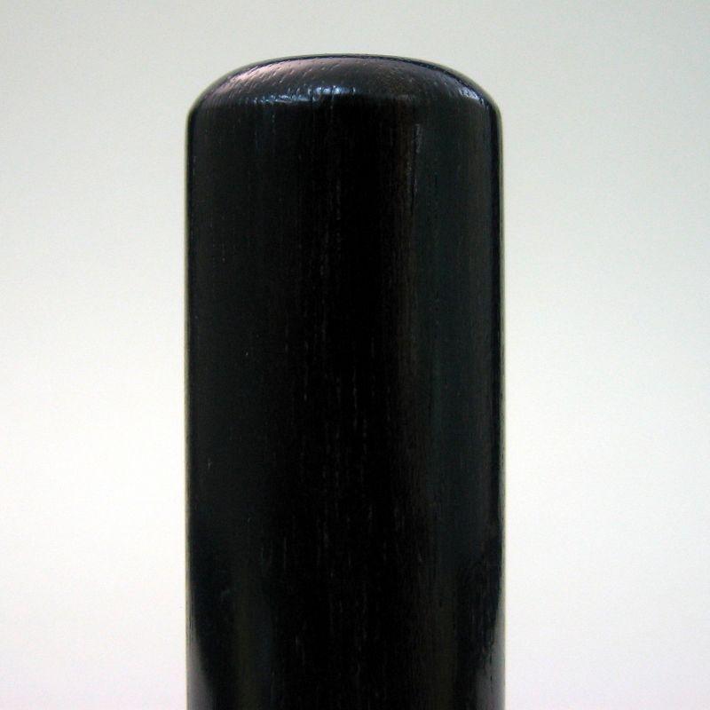 画像2: 【個人認印】黒檀12mm