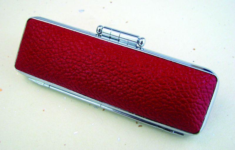 画像1: モミ皮ケース【10.5mm/12mm】赤